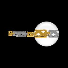 Obrazek łańcuszki Z1149-3,25g